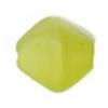 Glass Bead Lanterns 6mm Light Green Matt Strung